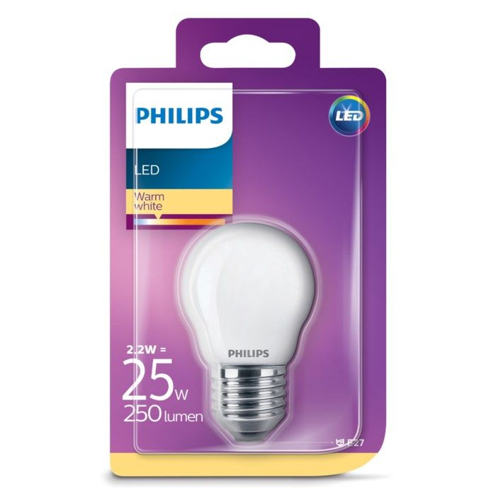 Philips LED-lampa LED E27 250 lm