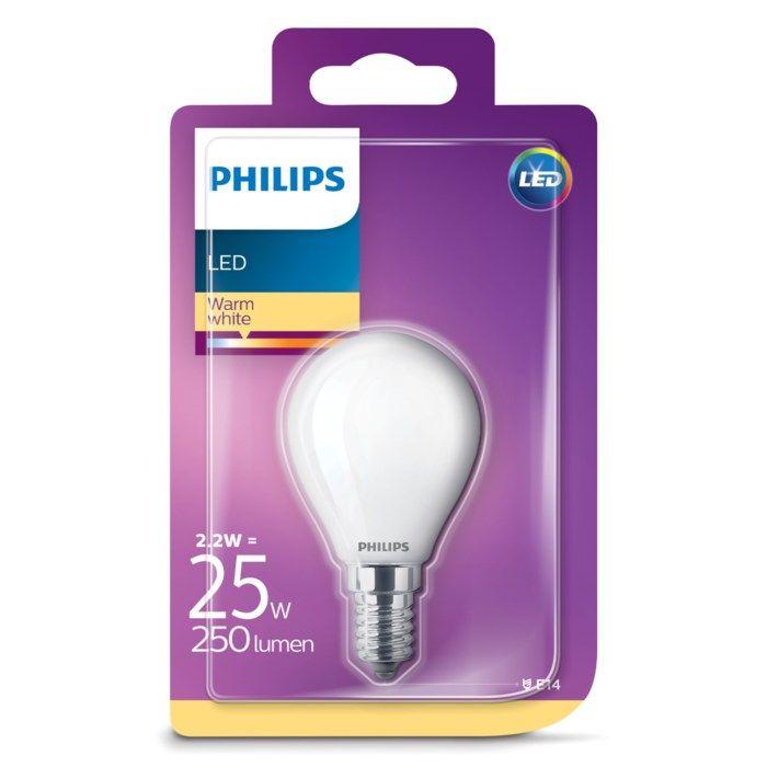 Philips LED-lampa LED E14 250 lm