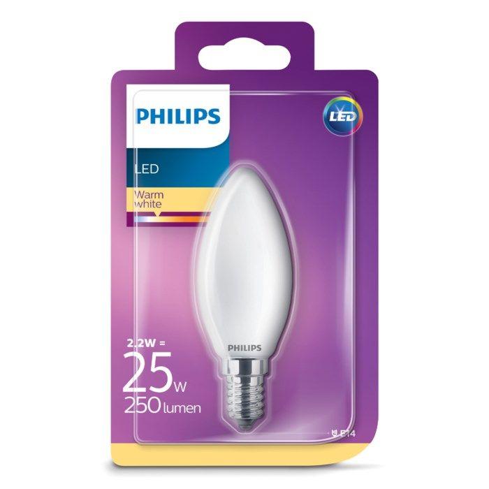 Philips LED-lampa Kron LED E14 250 lm