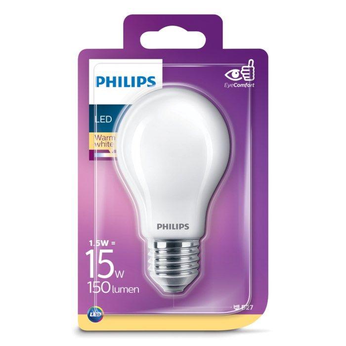 Philips Globlampa LED E27 150 lm
