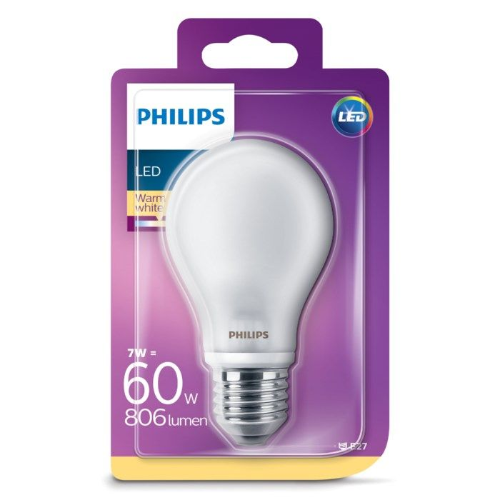 Philips Globlampa LED E27 806 lm