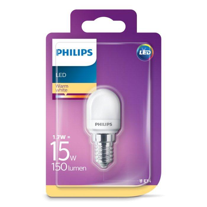Philips LED-lampa Päron E14 150 lm