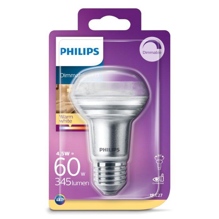 Philips LED-lampa Reflektor E27 345 lm