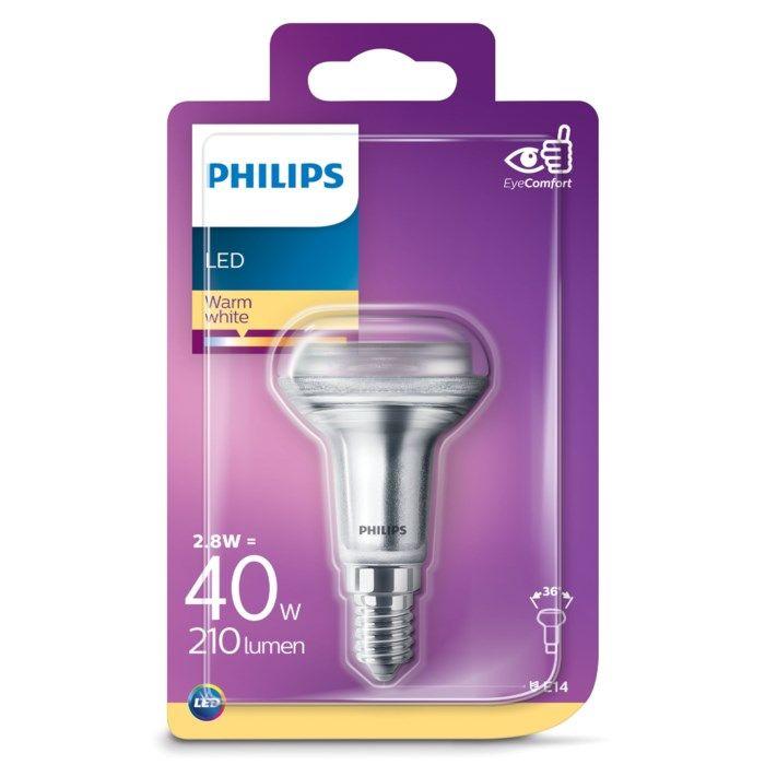 Philips LED-lampa Reflektor E14 210 lm