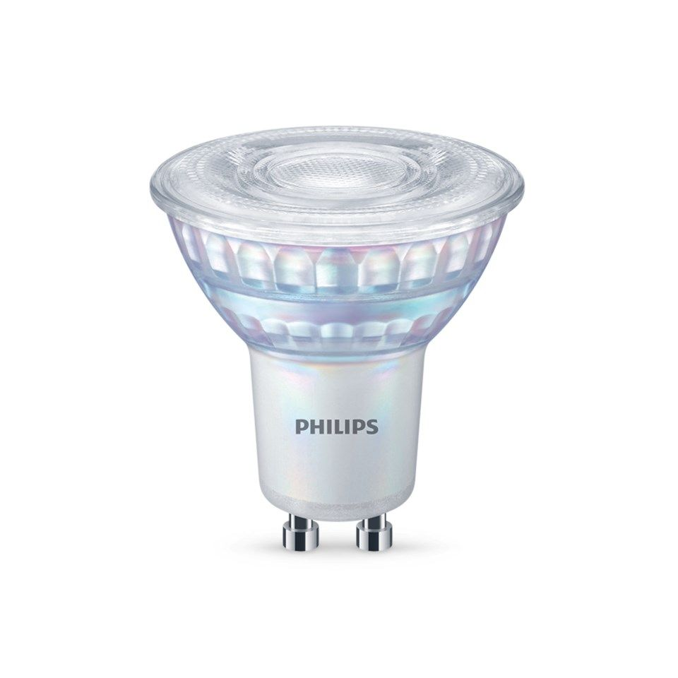 Philips LED-lampa GU10 345 lm