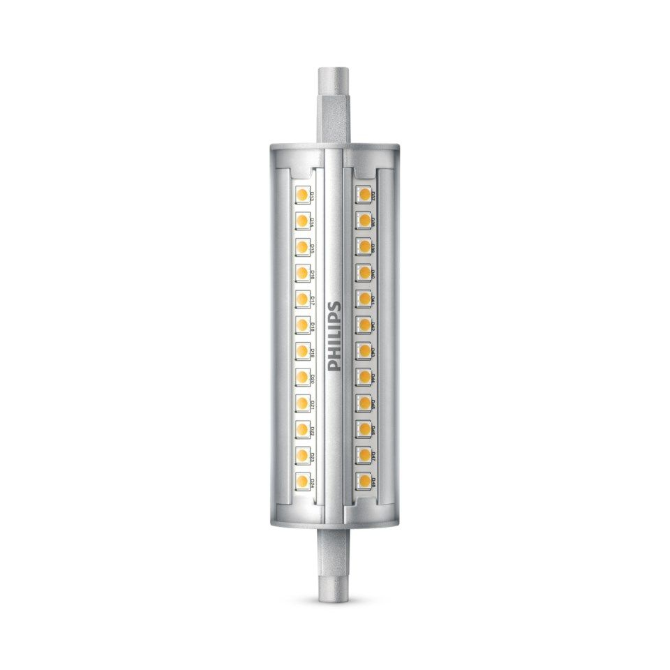 Philips LED-rør R7s 118 mm 806 lm