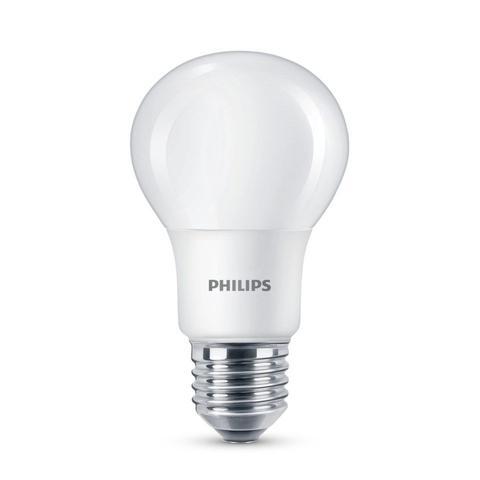 Philips Dimbar LED-lampa E27 470 lm