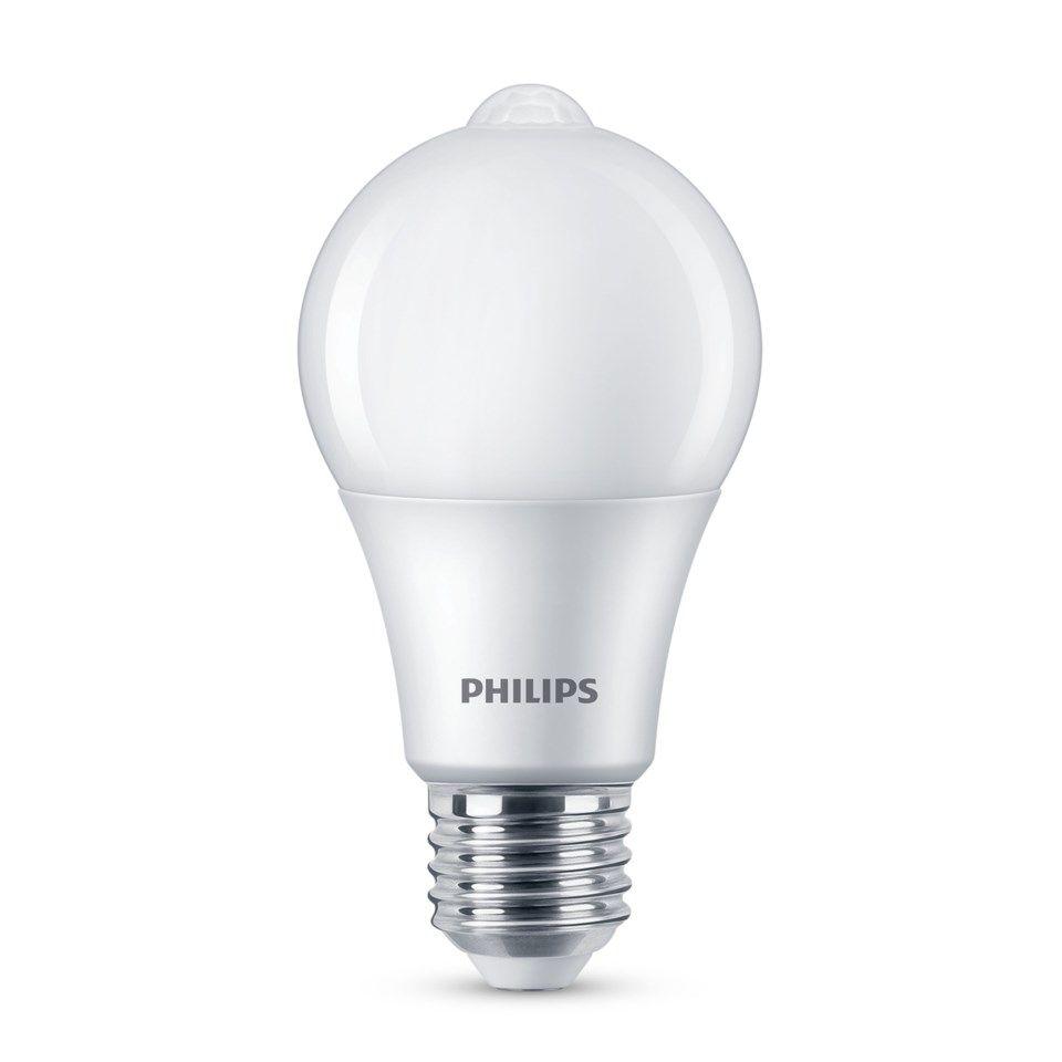 Ledsavers LED pære med bevegelsessensor E27 600 lm LED