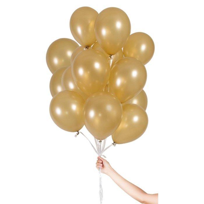 Ballonger 30-pack Guld