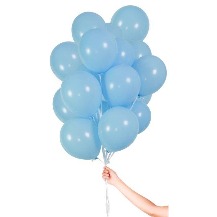 Ballonger 30-pack Ljusblå