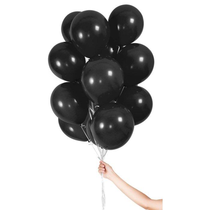 Ballonger 30-pack Svart