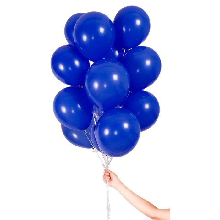 Ballonger 30-pack Mörkblå