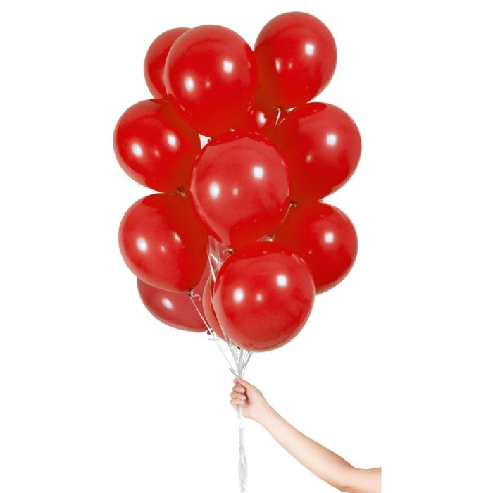 Ballonger 30-pack Röd