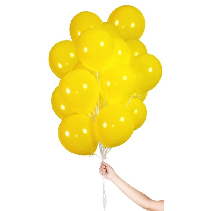 Ballonger 30-pack Gul