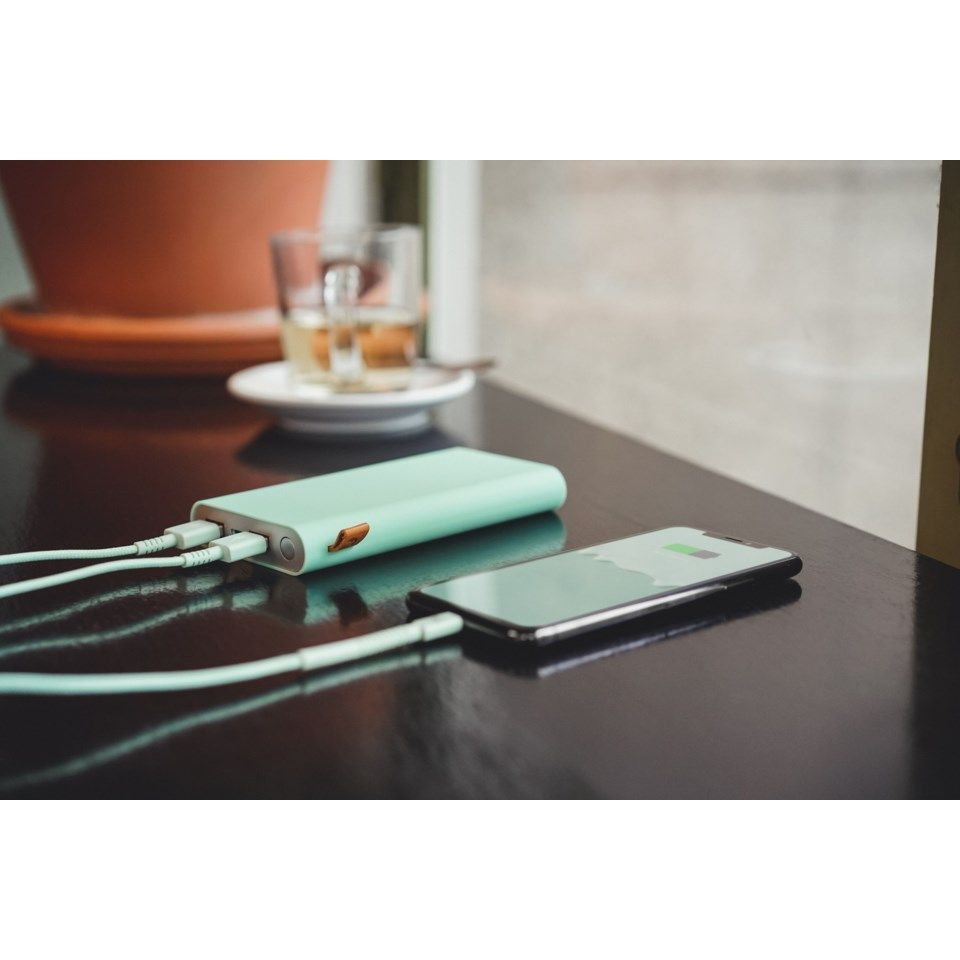 Fresh n Rebel Powerbank 12000 mAh Turkos