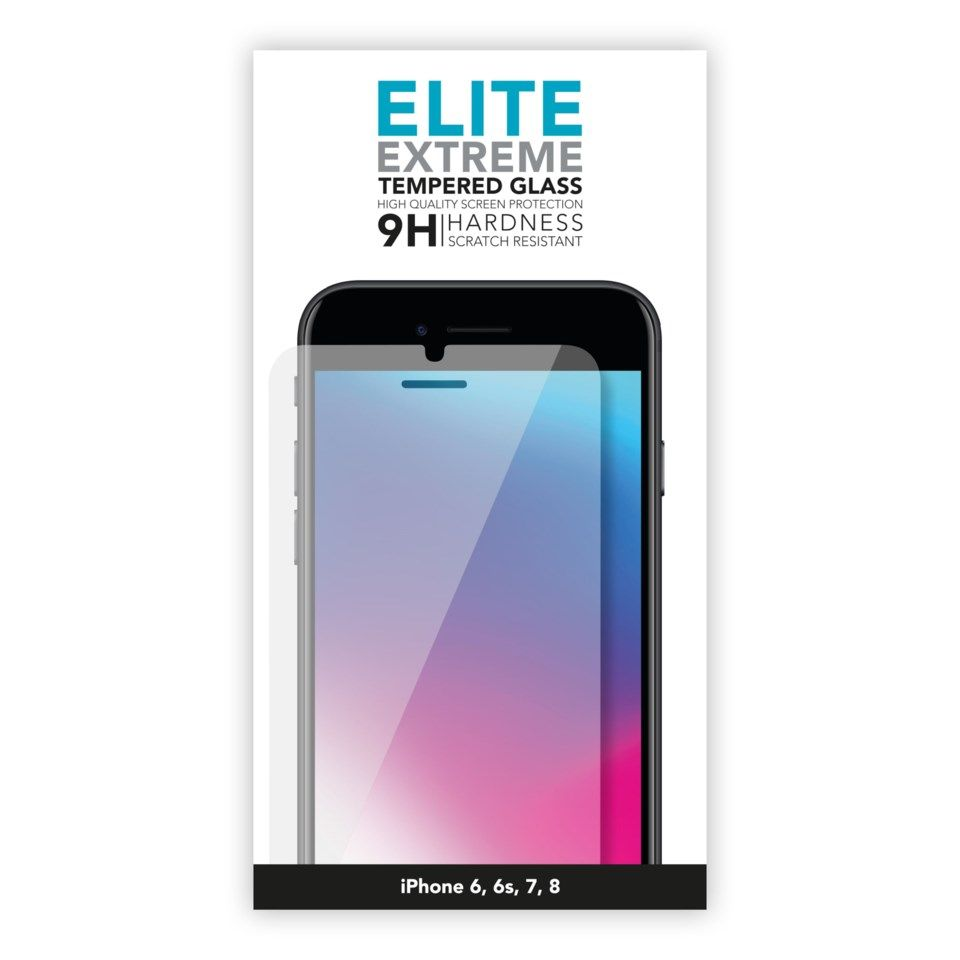 Linocell Elite Extreme skjermbeskytter for iPhone 7 og 8