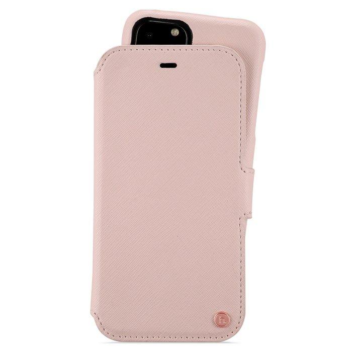 Magnetisk mobilplånbok för iPhone 11 Pro Rosa