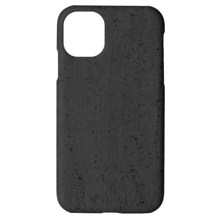 Krusell Birka Mobilskal i kork för iPhone 11 Pro Max Svart