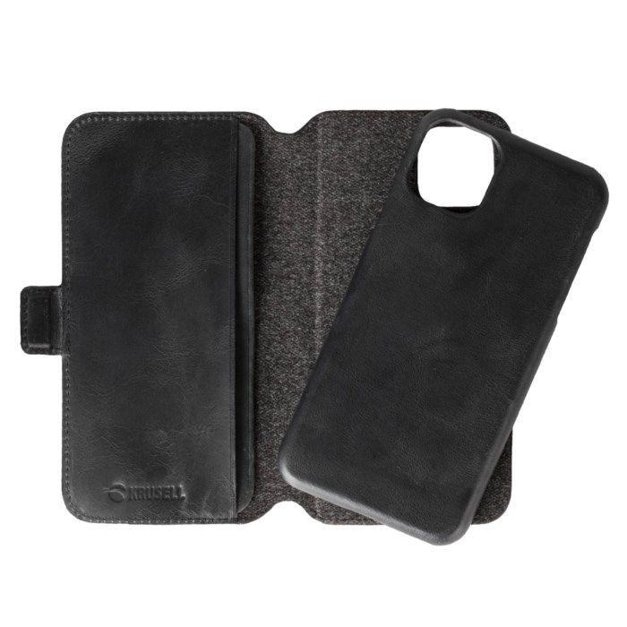 Krusell Sunne Magnetisk mobilplånbok för iPhone 11