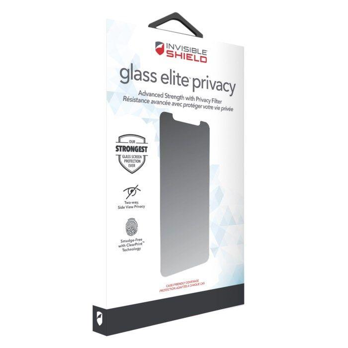Invisible Shield Glass Elite Privacy Skärmskydd för iPhone 11 Pro Max