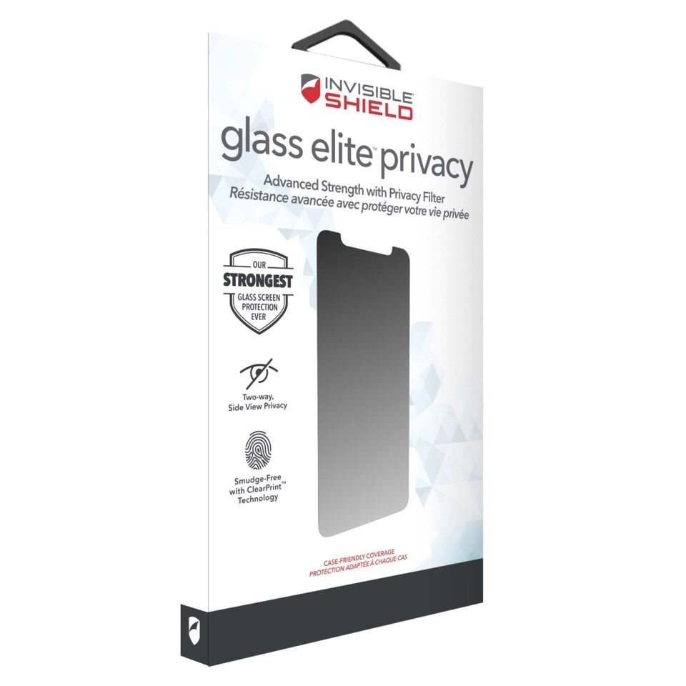 Invisible Shield Glasss Elite Privacy Skjermbeskytter for iPhone 11 Pro