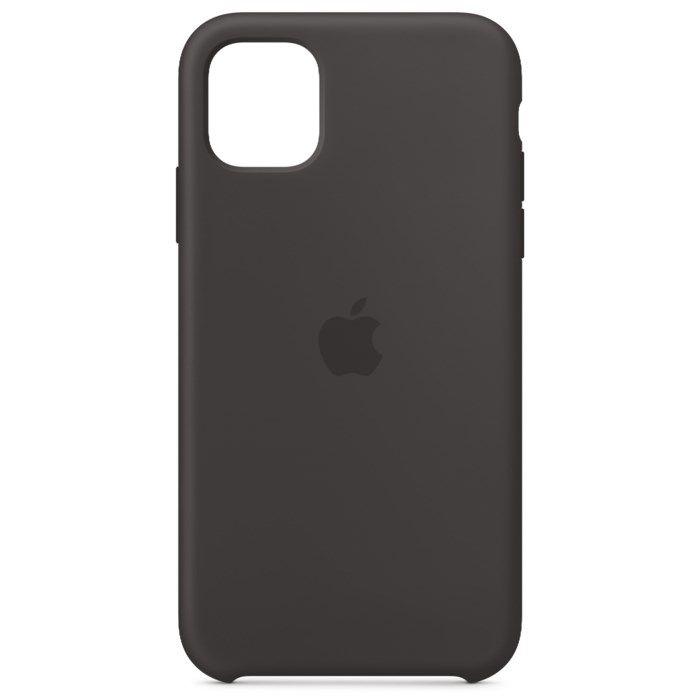 Apple Silikonskal till iPhone11 Svart
