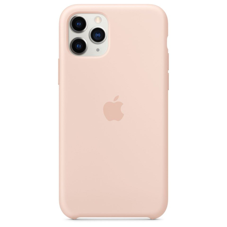 Apple Silikondeksel til iPhone 11 Pro Rosa