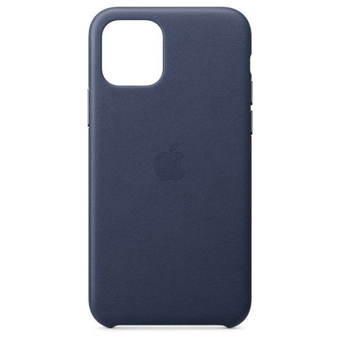 Apple Läderskal till iPhone11Pro Blå