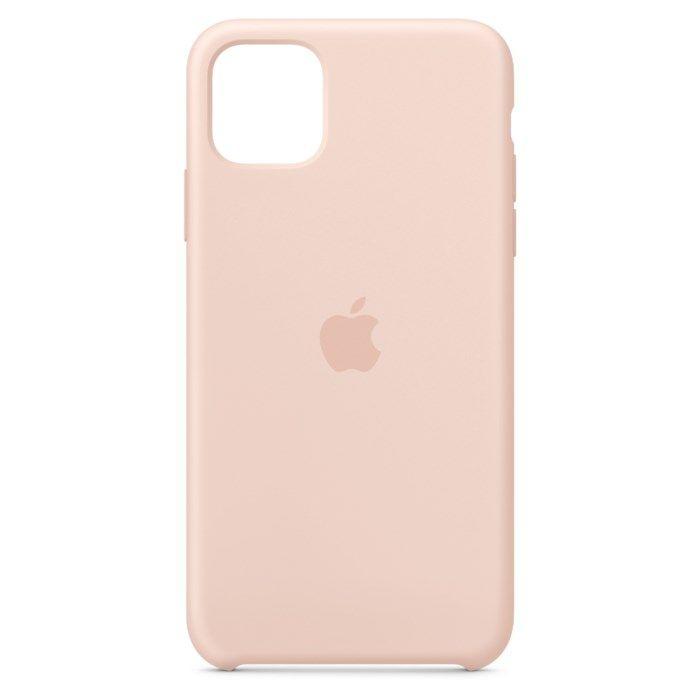 Apple Silikonskal till iPhone11 ProMax Rosa