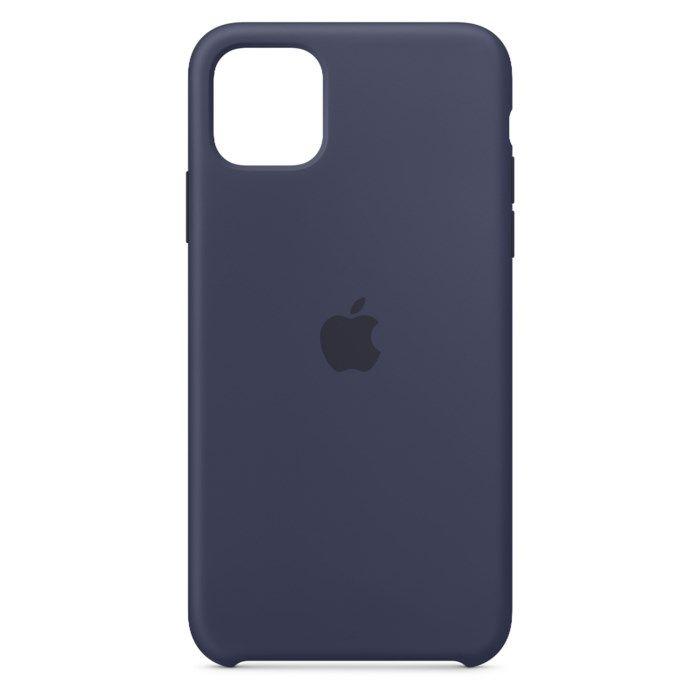 Apple Silikonskal till iPhone11 ProMax Blå