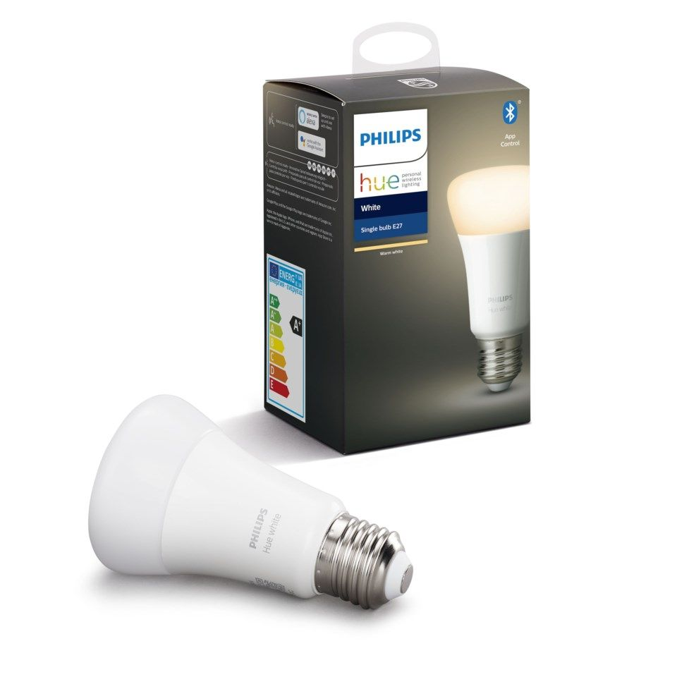 Philips Hue White Smart LED-lampa E27 806 lm 1-pack