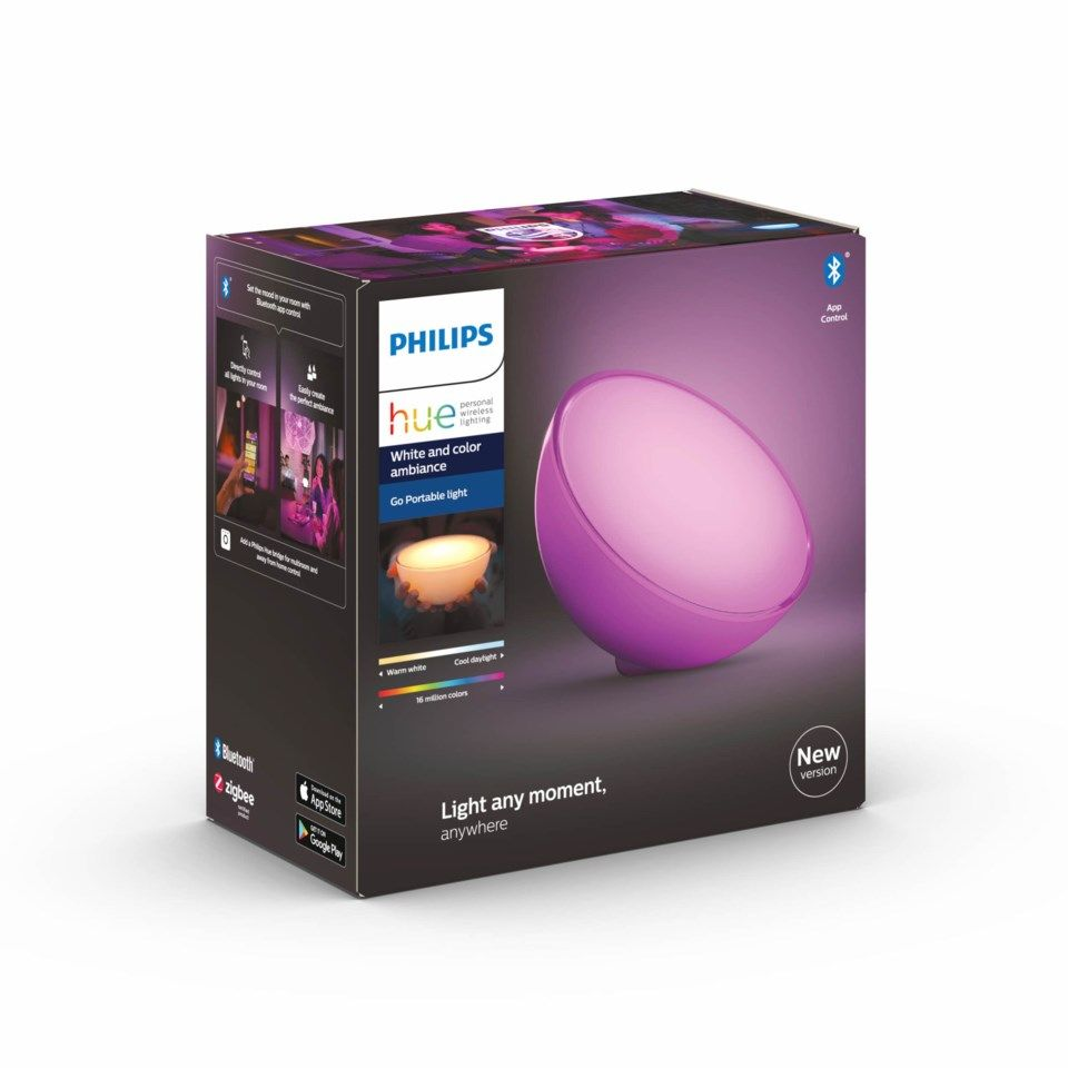 Philips Hue Go Bärbar bordslampa