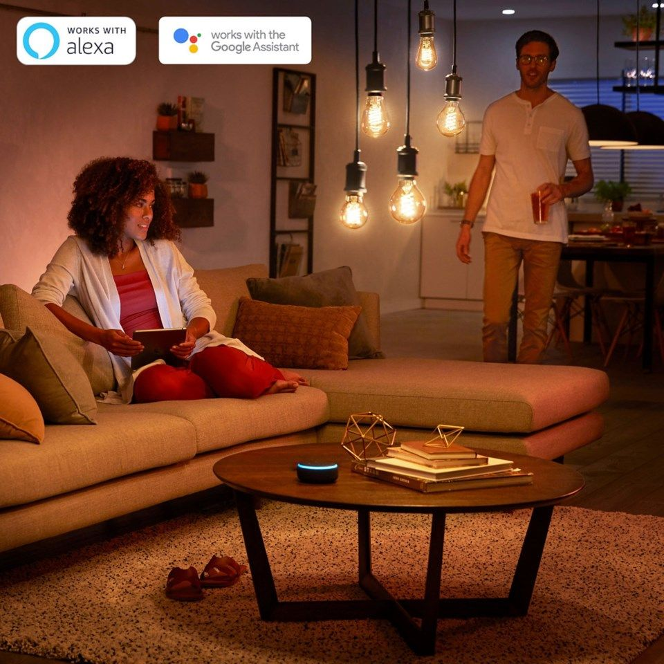 Philips Hue Filament A60 Smart LED-lampa E27 550 lm