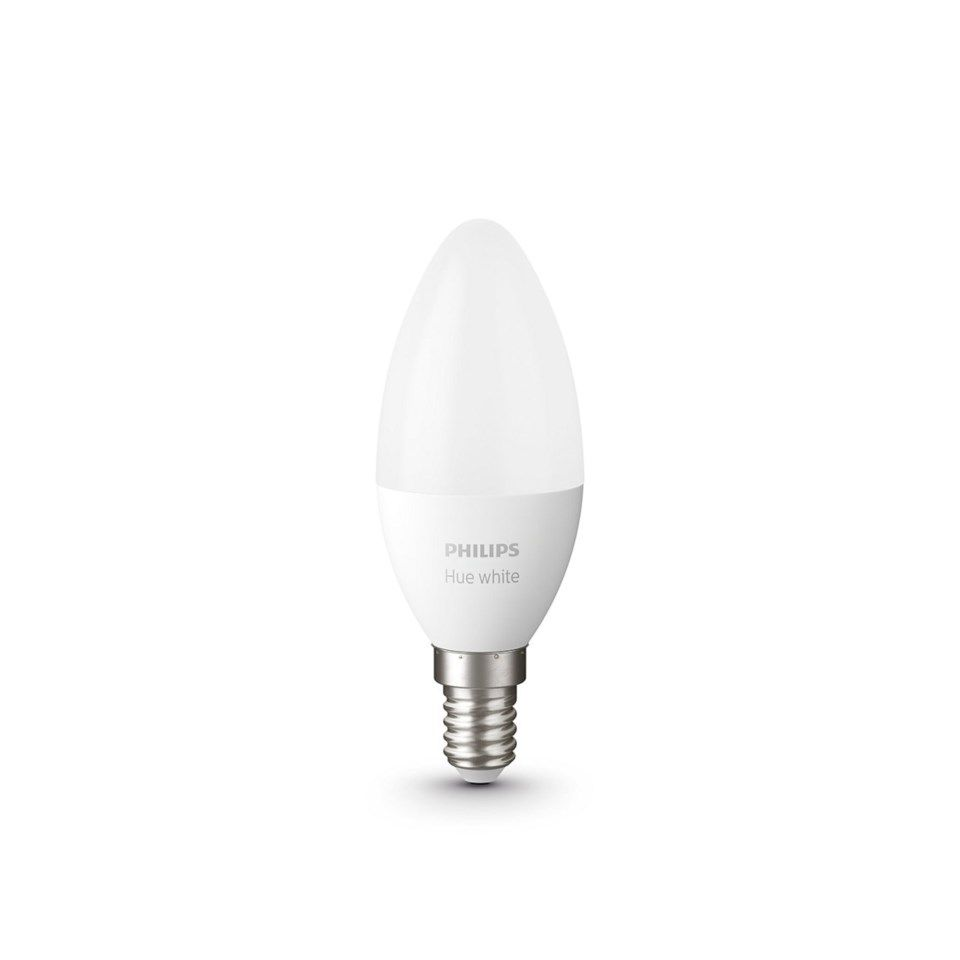 Philips Hue White Smart LED-pære E14 470 lm 1-pk.