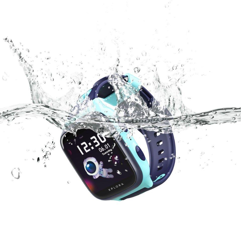 Xplora 4 GPS-klokke og telefon for barn Blå