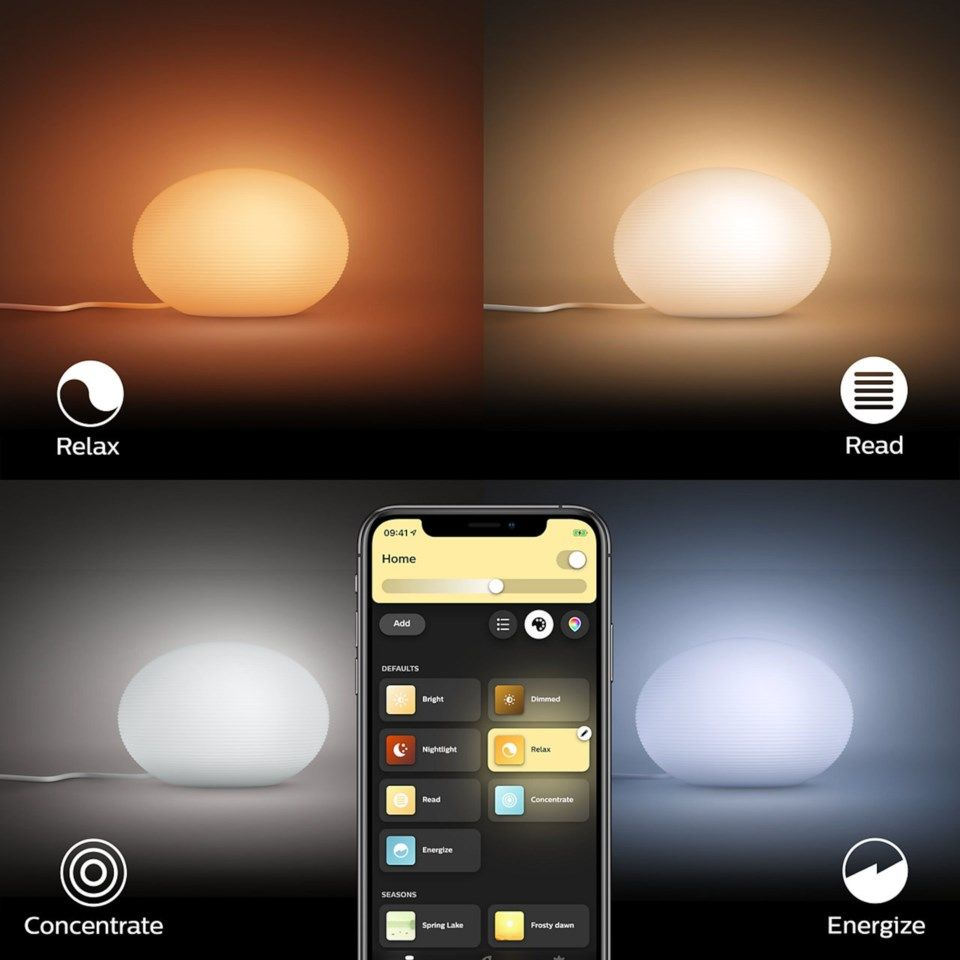 Philips Hue Flourish Bordslampa