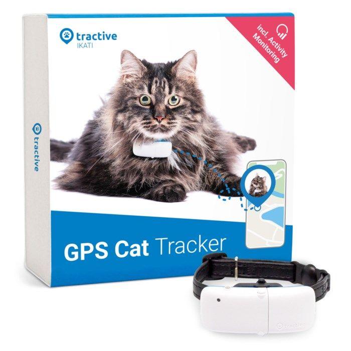 Tractive GPS-tracker med halsband för katt