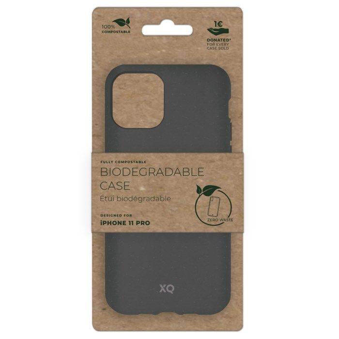 Xqisit Komposterbart mobilskal för iPhone 11 Pro Grå