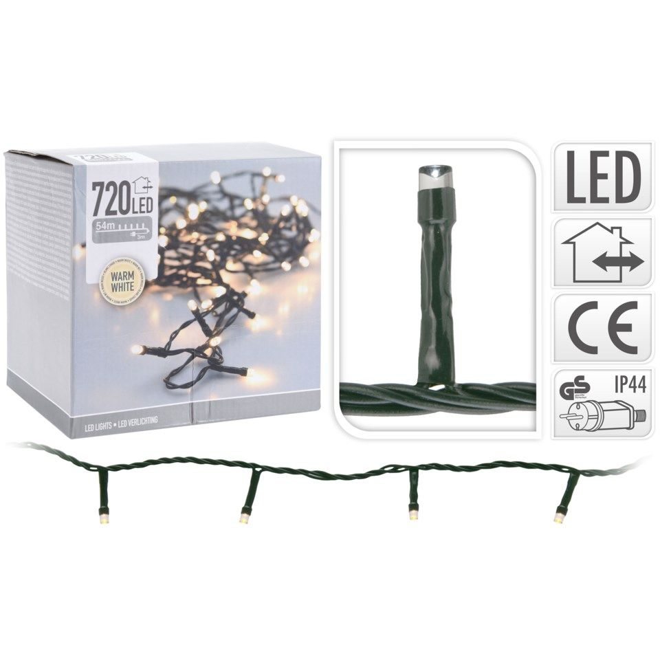Dekorationsslinga 720 LED