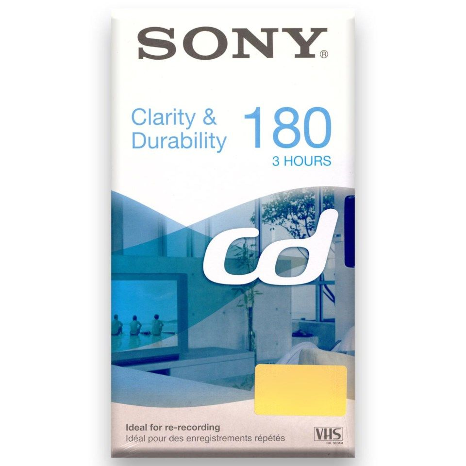 Sony VHS-band 180 min 1-pack