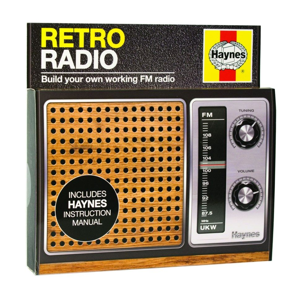 Haynes Retro Radio Byggesett for FM-radio