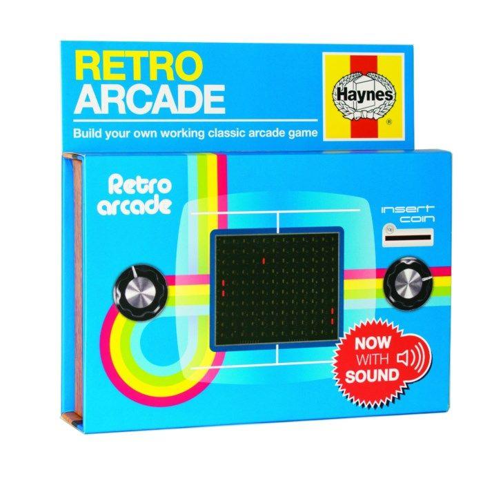 Haynes Retro Arcade Byggsats för arkadspel