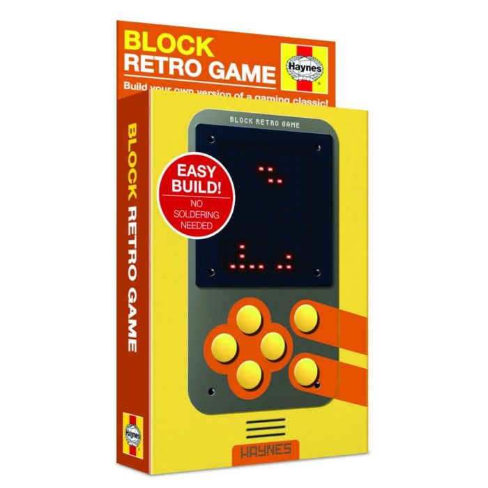 Haynes Block Retro Game Byggsats för arkadspel
