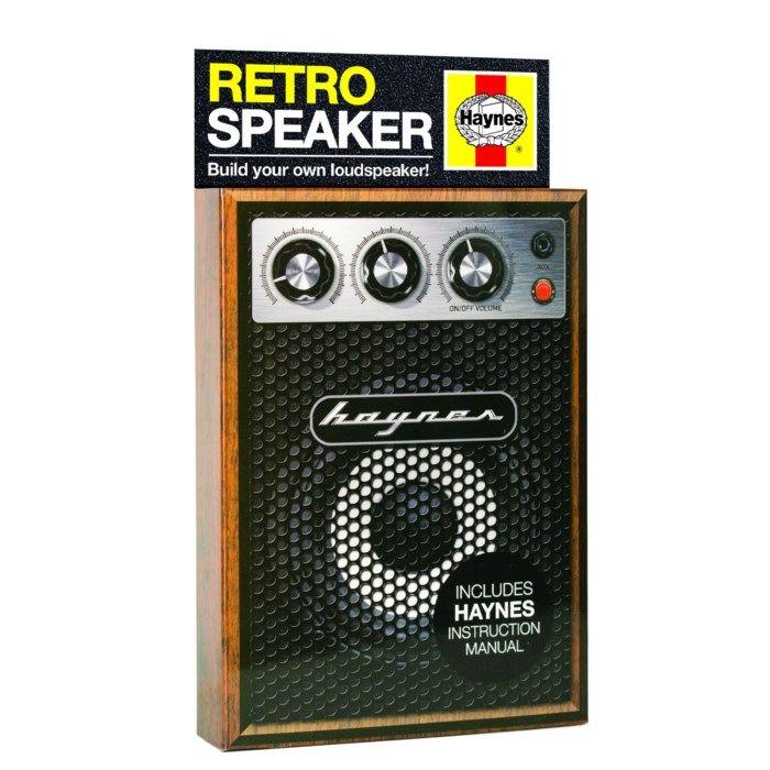 Haynes Retro Speaker Byggsats för högtalare