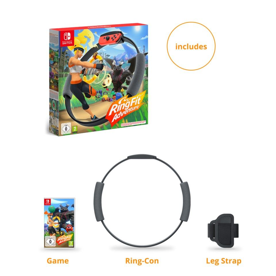 Nintendo Ring Fit Adventure till Switch