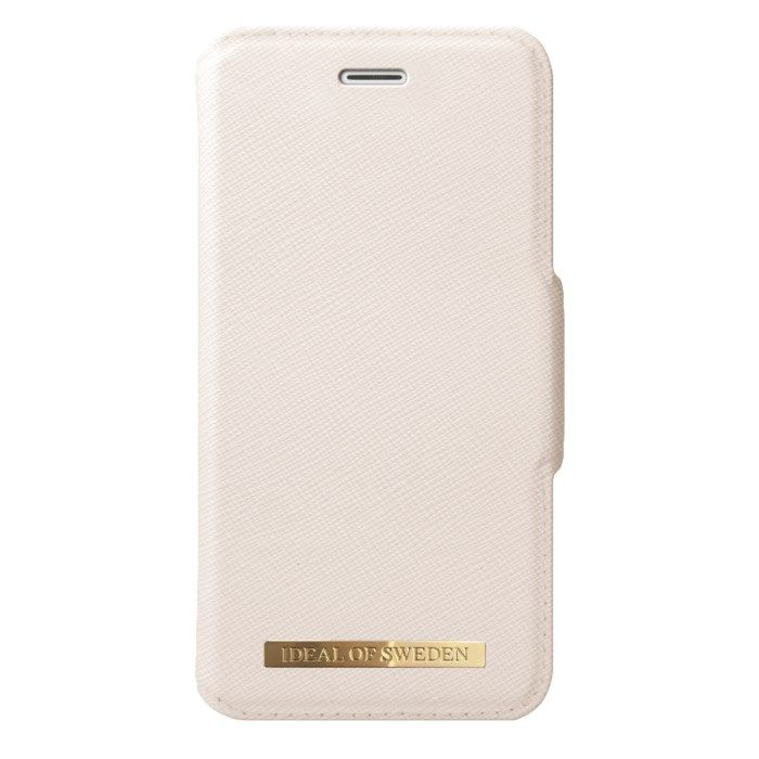 IDEAL OF SWEDEN Magnetisk mobilplånbok för iPhone 6/7/8/SE Beige