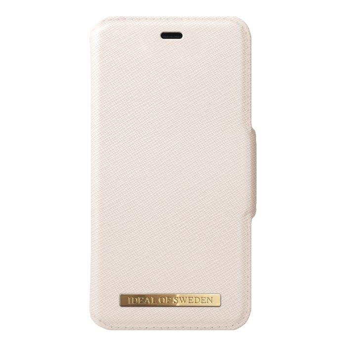Ideal of Sweden Magnetisk mobilplånbok för iPhone Xr och 11 Beige