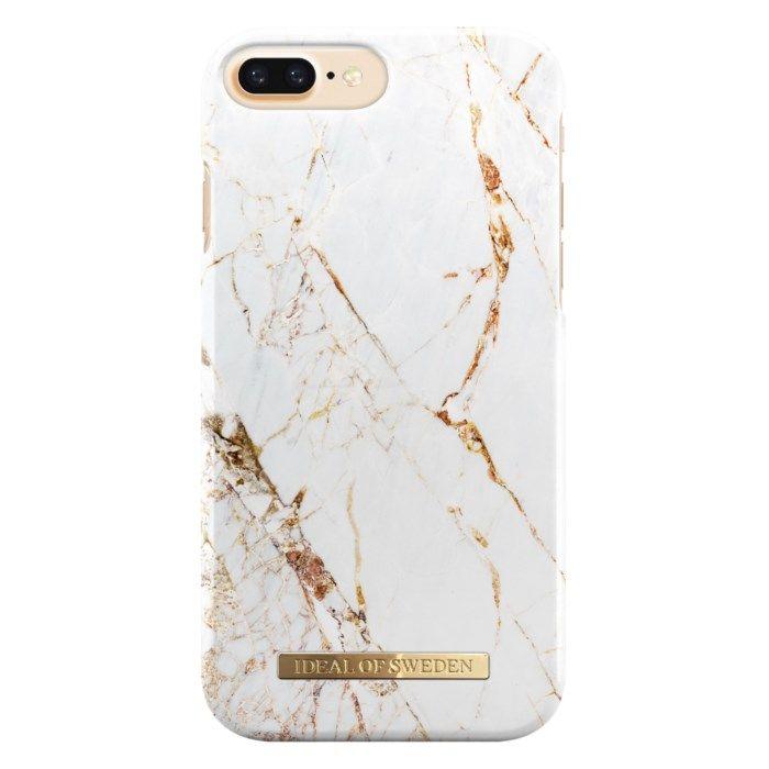 Ideal of Sweden Carrara Gold Mobilskal för iPhone 6, 7 och 8 Plus-serien