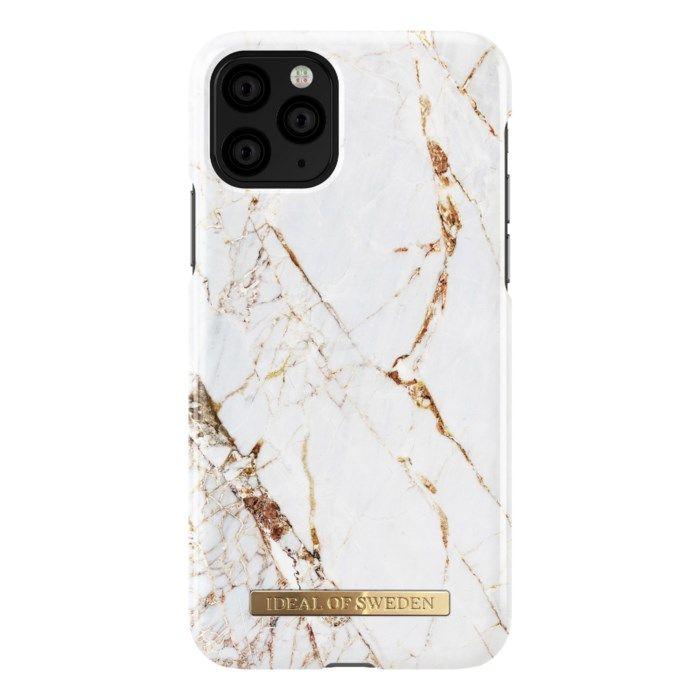 IDEAL OF SWEDEN Carrara Gold Mobilskal för iPhone X/Xs/11 Pro