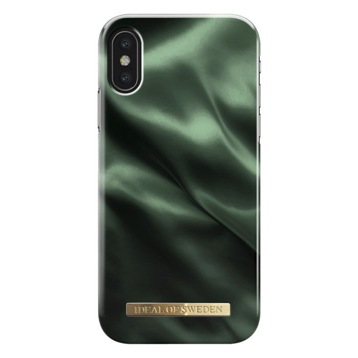 IDEAL OF SWEDEN Emerald Satin Mobilskal för iPhone X/Xs